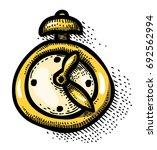 cartoon image of clock icon....