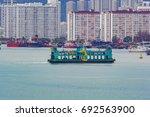 georgetown  penang  malaysia  ... | Shutterstock . vector #692563900