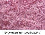 Abstract  Pink Fake Fur...