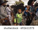 june 24  2017 cotacachi ... | Shutterstock . vector #692611573