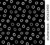 abstract white polka dot...   Shutterstock .eps vector #692613400