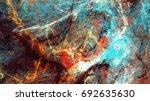 bright artistic splashes....   Shutterstock . vector #692635630