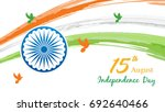 indian independence day on... | Shutterstock .eps vector #692640466