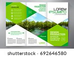 business brochure. flyer design.... | Shutterstock .eps vector #692646580