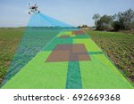 drone for agriculture  smart... | Shutterstock . vector #692669368