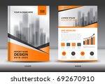 annual report brochure flyer... | Shutterstock .eps vector #692670910