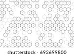 vector abstract boxes... | Shutterstock .eps vector #692699800
