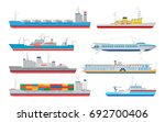 vector collection of... | Shutterstock .eps vector #692700406