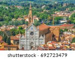 Above View Of Basilica Of Sant...