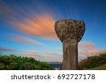 A Replica Ancient Latte Stone...