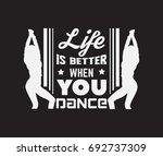 vector quote typographical... | Shutterstock .eps vector #692737309