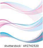 abstract lines wave texture.... | Shutterstock .eps vector #692742520