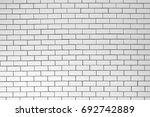 ceramic brick tile wall | Shutterstock . vector #692742889