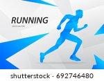 blue modern vector graphic... | Shutterstock .eps vector #692746480