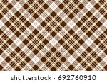 check brown beige textile... | Shutterstock .eps vector #692760910