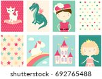 collection of banner  flyer ... | Shutterstock .eps vector #692765488