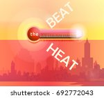 global warming.vector... | Shutterstock .eps vector #692772043