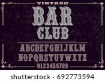 font.script.typeface....   Shutterstock .eps vector #692773594