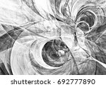 abstract grey and white motion...   Shutterstock . vector #692777890