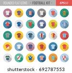 layered vector set of various... | Shutterstock .eps vector #692787553
