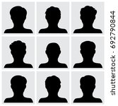 set of people icons vector | Shutterstock .eps vector #692790844