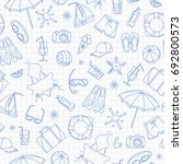 seamless pattern on the theme... | Shutterstock .eps vector #692800573