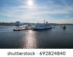 stockholm  sweden   may 18th ... | Shutterstock . vector #692824840