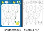 preschool worksheet for... | Shutterstock .eps vector #692881714