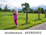 Children And Animals. The Chil...