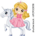 colorful illustration of a cute ... | Shutterstock .eps vector #692932858