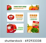 fast delivery of fresh... | Shutterstock .eps vector #692933338