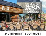 pigeon forge  tennessee  usa  ... | Shutterstock . vector #692935054