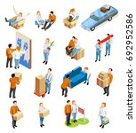 Moving People Isometric...