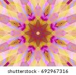 seamless multicolored... | Shutterstock . vector #692967316