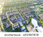 aerial view of residential... | Shutterstock . vector #692987878