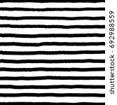 hand drawn horizontal stripes... | Shutterstock .eps vector #692988559