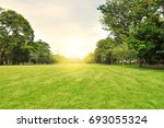 garden in urban city in the... | Shutterstock . vector #693055324