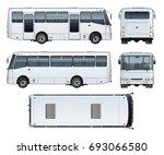 vector realistic urban...   Shutterstock .eps vector #693066580