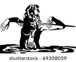 sewer   women | Shutterstock . vector #69308059