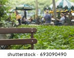 Blurred Park Background...