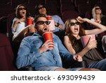 photo of shocked friends... | Shutterstock . vector #693099439