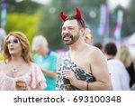 amsterdam  the netherlands  ... | Shutterstock . vector #693100348