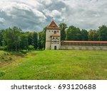 lubchan castle  residential... | Shutterstock . vector #693120688