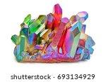 amazing detailed closeup of... | Shutterstock . vector #693134929