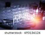 financial accounting of profit... | Shutterstock . vector #693136126