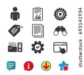 accounting workflow icons....