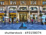 serbia  belgrade   july 26 ...   Shutterstock . vector #693158074