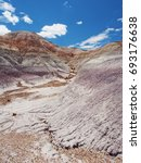 Small photo of Painted Desert, Petrified Forest National Park, Arizona