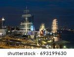 hamburg  germany  panorama at...   Shutterstock . vector #693199630