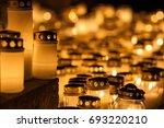 candles   Shutterstock . vector #693220210